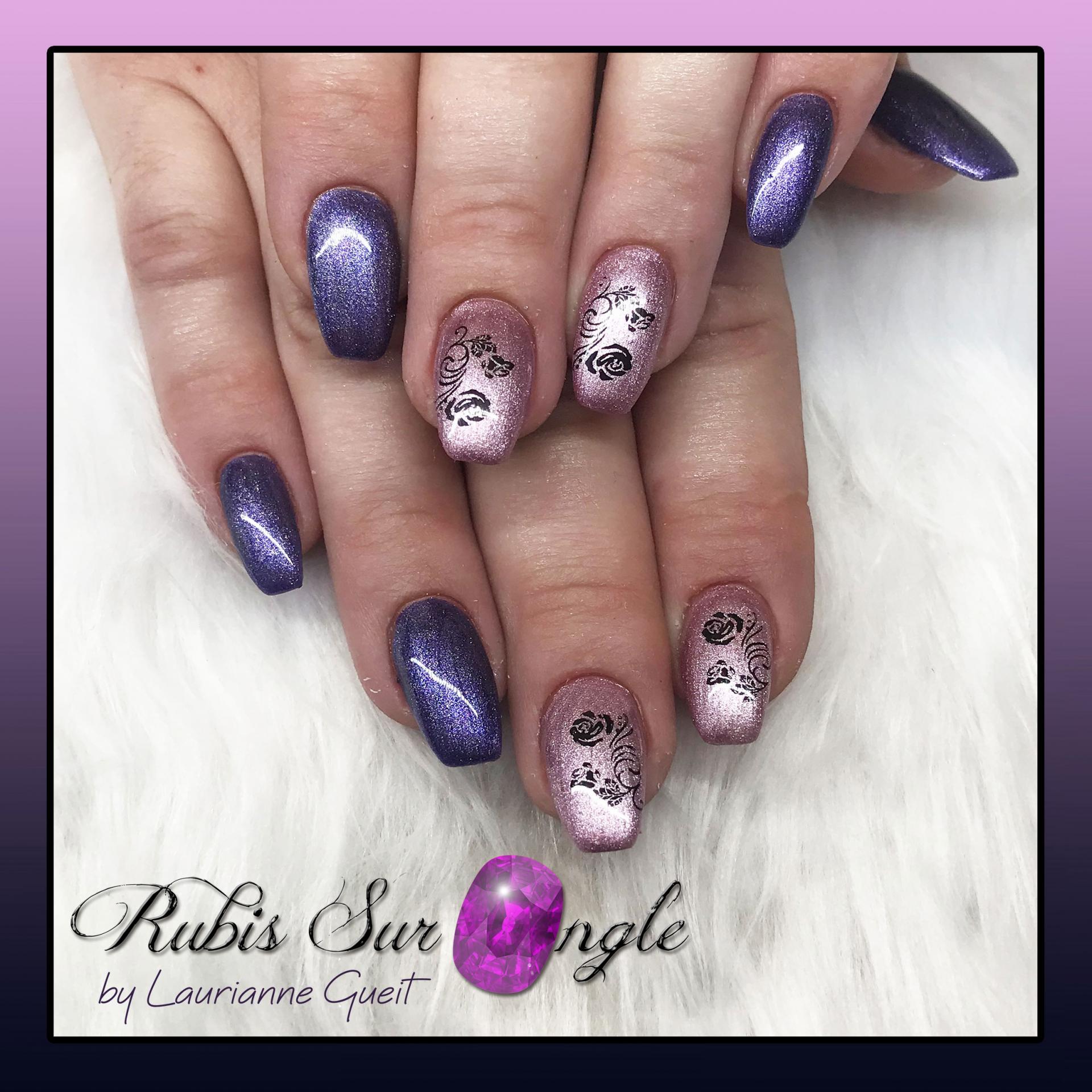 Rubis Sur Ongle Manucure Violet