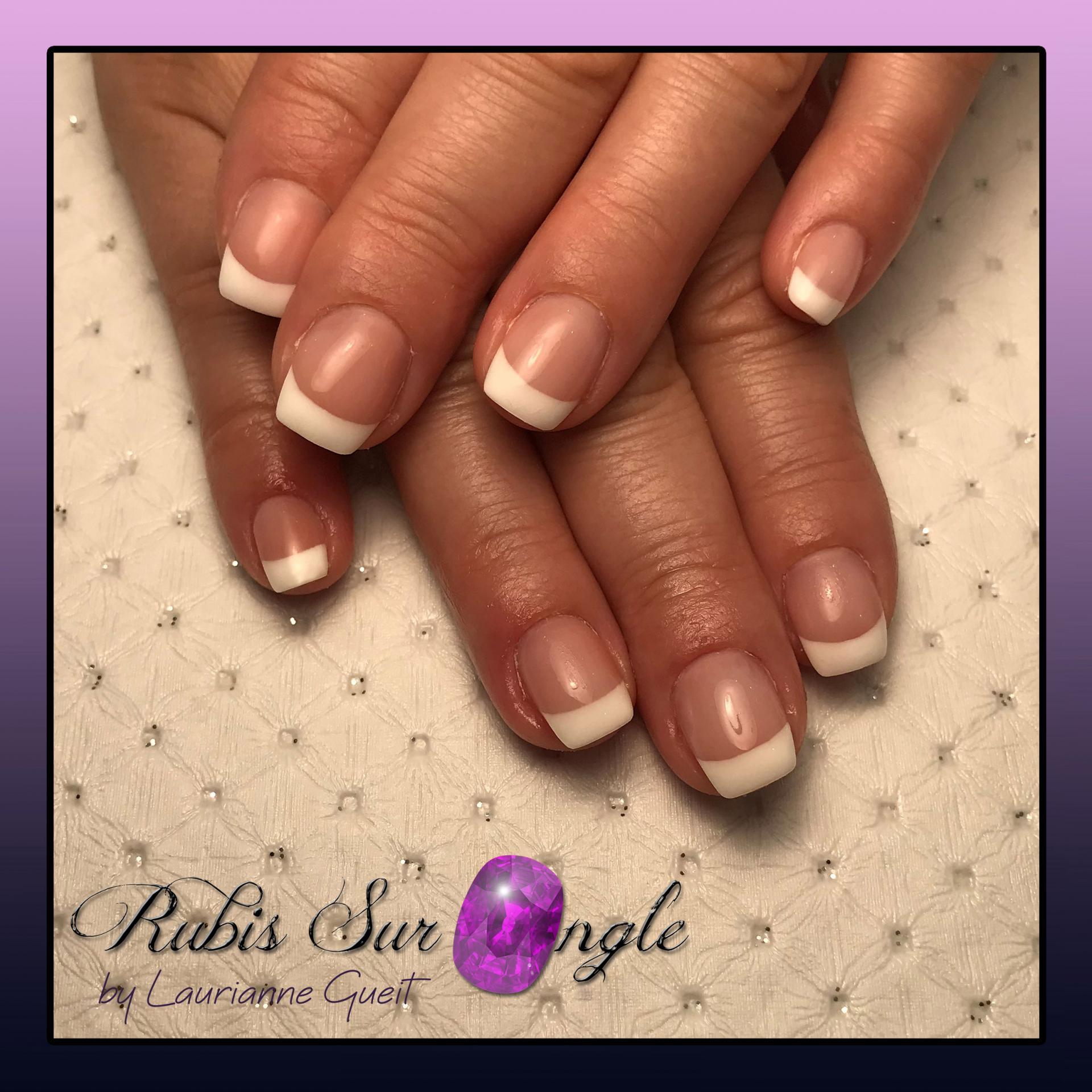 Rubis Sur Ongle Nail Art French