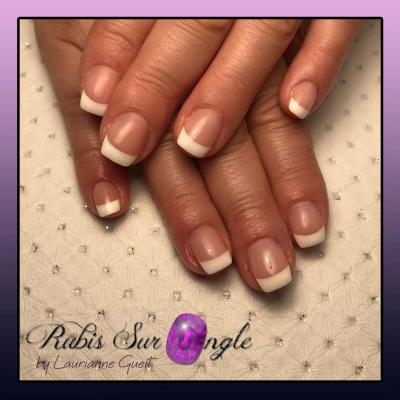 Rubis Sur Ongle Nail Art French