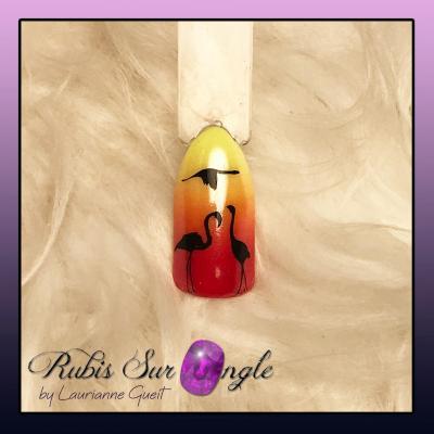 Rubis Sur Ongle Nail Art